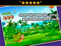 Baby Bengal Tiger Run para iPhone y iPad