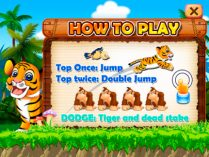 Baby Tiger Run iPad